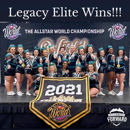 Legacy Elite Wins!