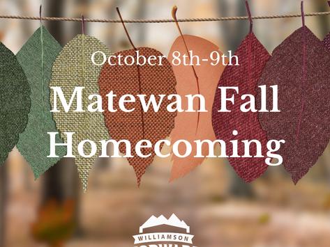 #FallFun: Matewan Fall Homecoming
