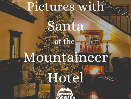 Santa's Coming to the Mountaineer Hotel