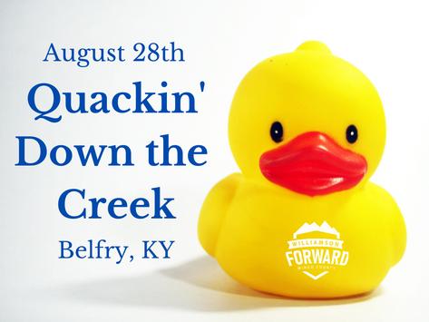 Fundraiser: Quackin' Down the Creek