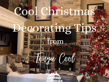 Quick Decorating Tips from Tonya Cool