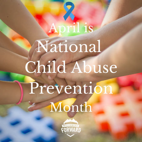 April: National Child Abuse Prevention Month