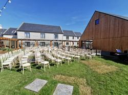 Outdoor Wedding at Hotel Doolin Co Clare
