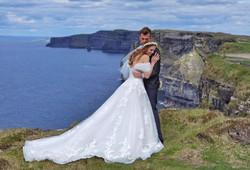 Hags Head outdoor wedding co clare