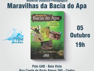 """Aprender Brincando: Programa Rio Apa para Todos lança livro de figurinhas """"Maravilhas da Bacia"""