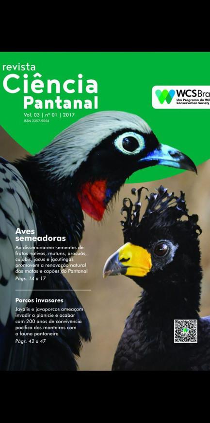 """Confira a 3ª edição da  revista """"Ciência Pantanal"""""""