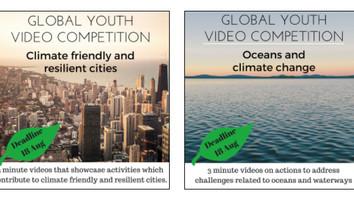 ONU abre concurso de vídeos para jovens que lutam contra as mudanças climáticas