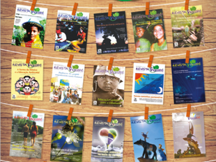 Revista Aguapé nº 20 celebra os 15 anos de Rede Aguapé