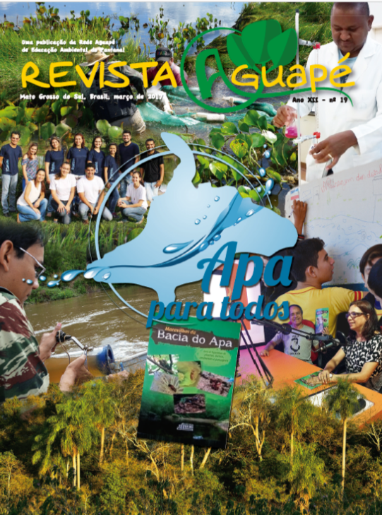 Capa da Revista Aguapé nº 19