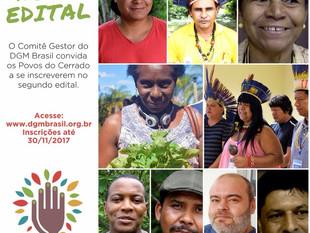 DGM Brasil convida Povos Tradicionais do Cerrado para segundo edital
