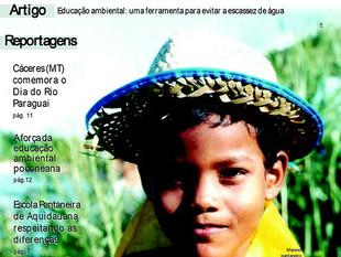 Capas da Revista Aguapé