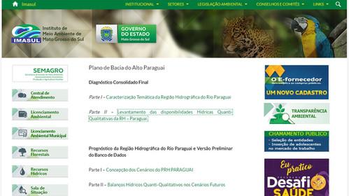 Plano de Bacia do Alto Paraguai