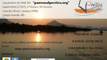 Iniciativa Pantanal Poética lança website