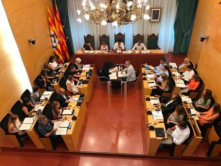 JUNTS PER CATALUNYA  i d'ERC Avancem-MES  portaran a ple una moció de reprovació a l'Alcalde
