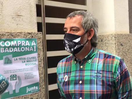 Campanya de JxCat Badalona a favor del comerç de proximitat
