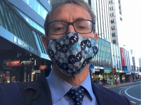 Coronavirus: Dr Ashley Bloomfield dons mask and takes part in WHO social media challenge