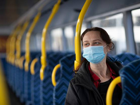 NZ Herald: $300 Instant fines for not wearing a mask on public transport.