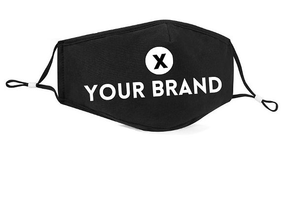 YOUR BRAND: 3-Layer Face Cover