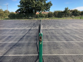 Tennis court resurface north norfolk