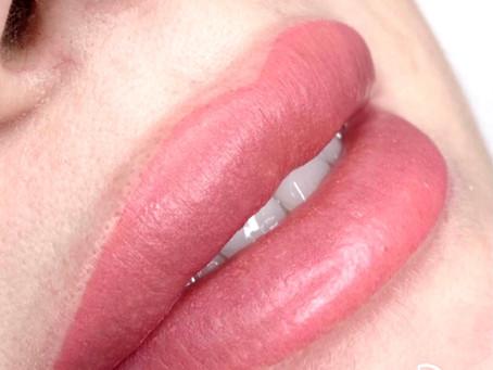 Sublimez vos lèvres avec le maquillage permanent. 💝😍