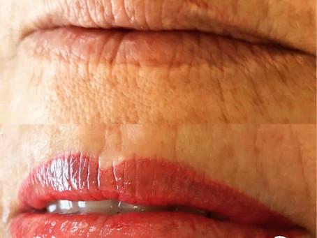 Un visage rajeuni grâce au maquillage permanent !