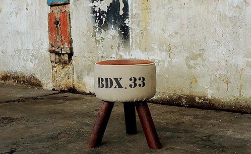 """Réf# 7 """"Petit Tabouret BDX.33"""""""