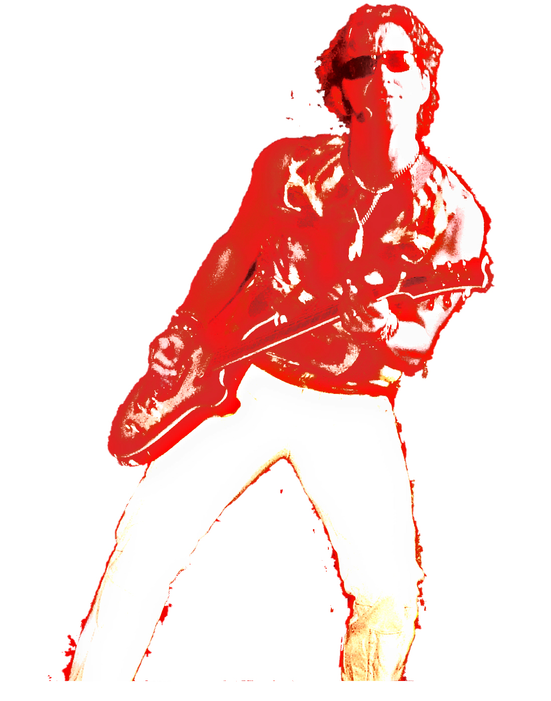rob cutout red gif