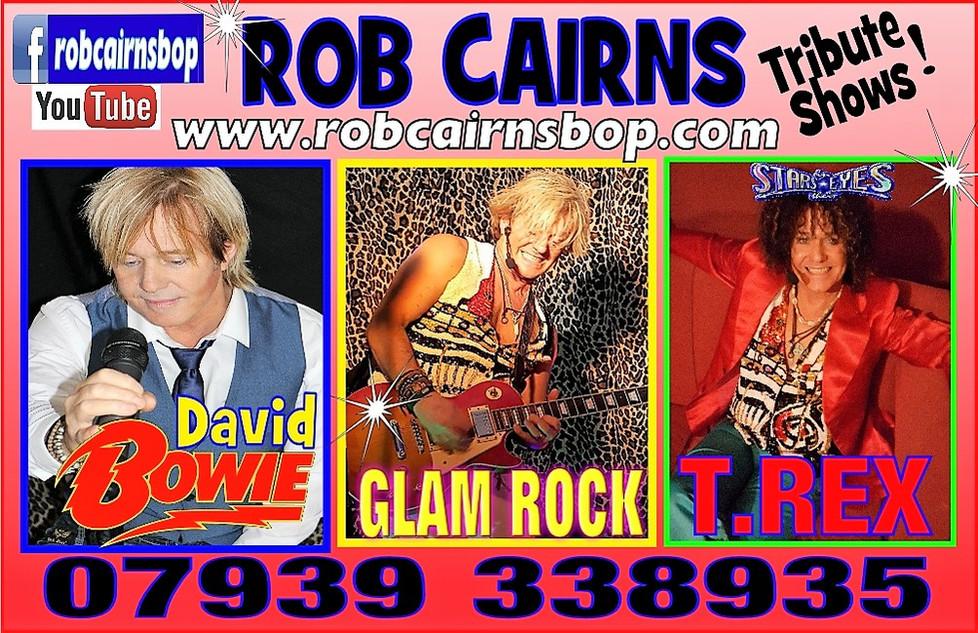 T.rex David Bowie 70's Party Tribute