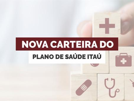 Nova Carteira do Plano de Saúde Itaú