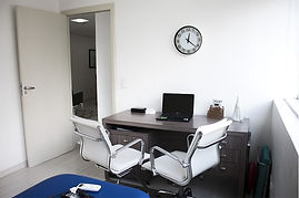 Sala de atendimento privada utilizada pelo fisioterapeuta Edson santiago