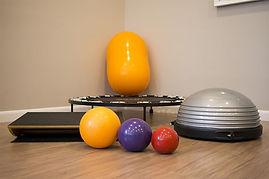 Equipamentos utilizados pelo fisioterapeuta Edson Santiago para aplicar a fisioterapia