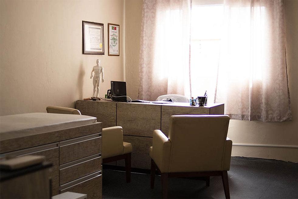 sala de atendimento na academia clube da saúde