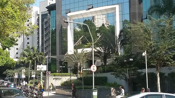 Entrada do prédio HMC (higeanópolis medical center)