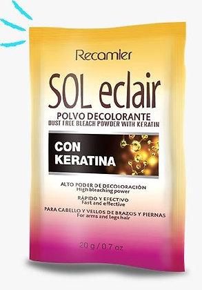 Sol Eclair Polvo Decolorante con Keratina 20 g
