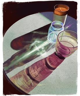 Glass Shadows - Digital Painting