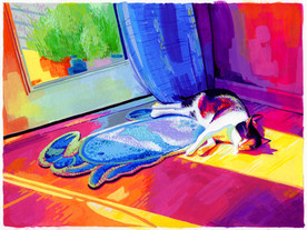 Junta - Gouache Painting