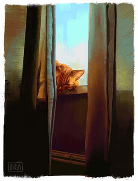 Sunbeam Boy 2 - Digital Painting
