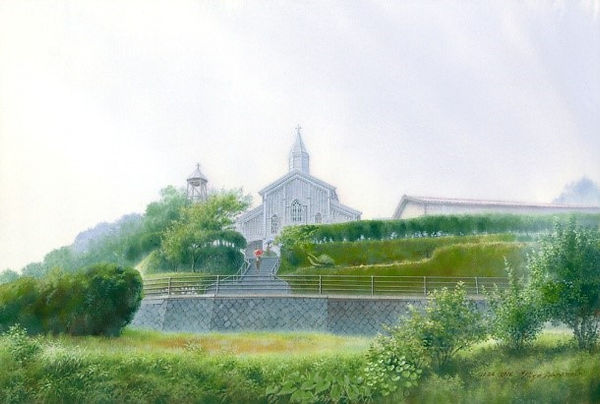 雨の水ノ浦教会.jpg