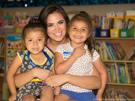 Miss Arizona Latina volunteers at St Vincent de Paul
