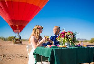 Hot Ait Balloon Wedding