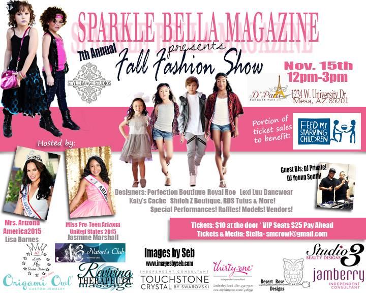 Sparkle Bella magazine Fashion Show