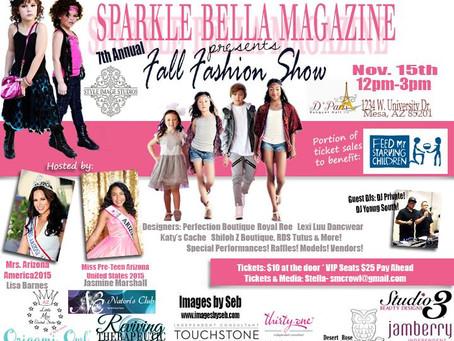 Sparkle Bella Magazine 2015 Fashion Show