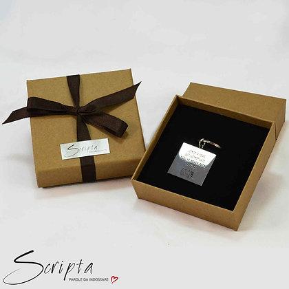 Confezione Regalo scatolina 9 x 9 cm