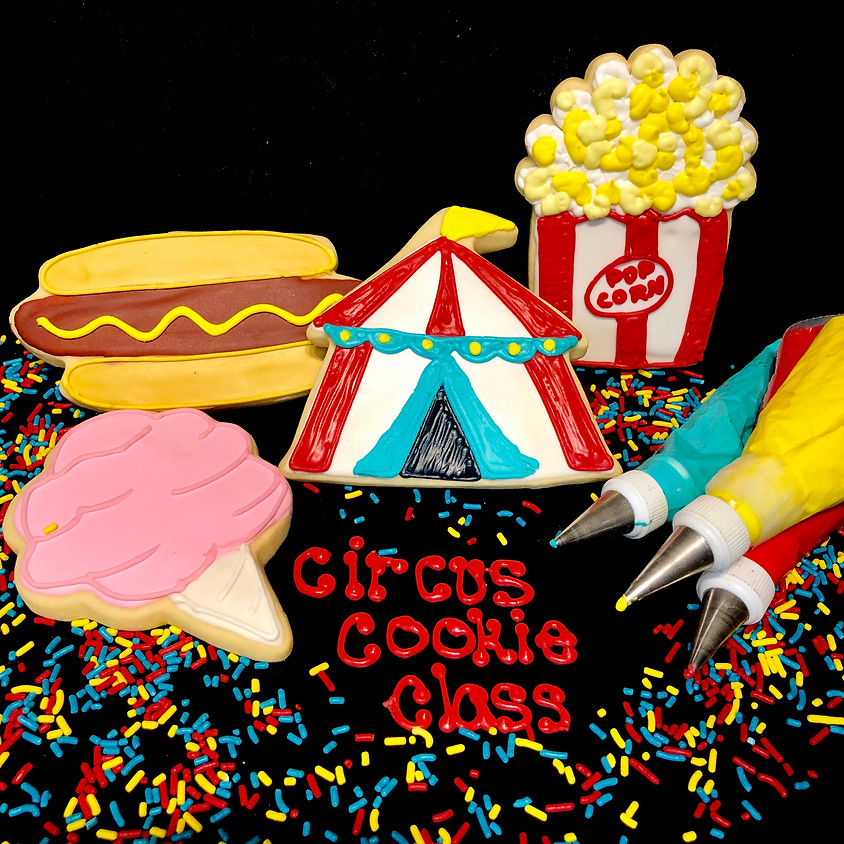 Cookie Decorating Class - Circus 1:00pm