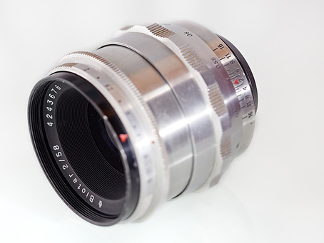 Carl Zeiss Jena Biotar 2/58mm