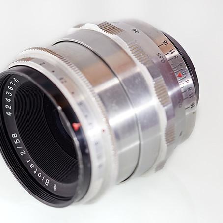 Carl Zeiss Jena Biotar 2/58mm