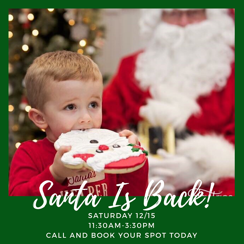 Santa is coming to Tastries!