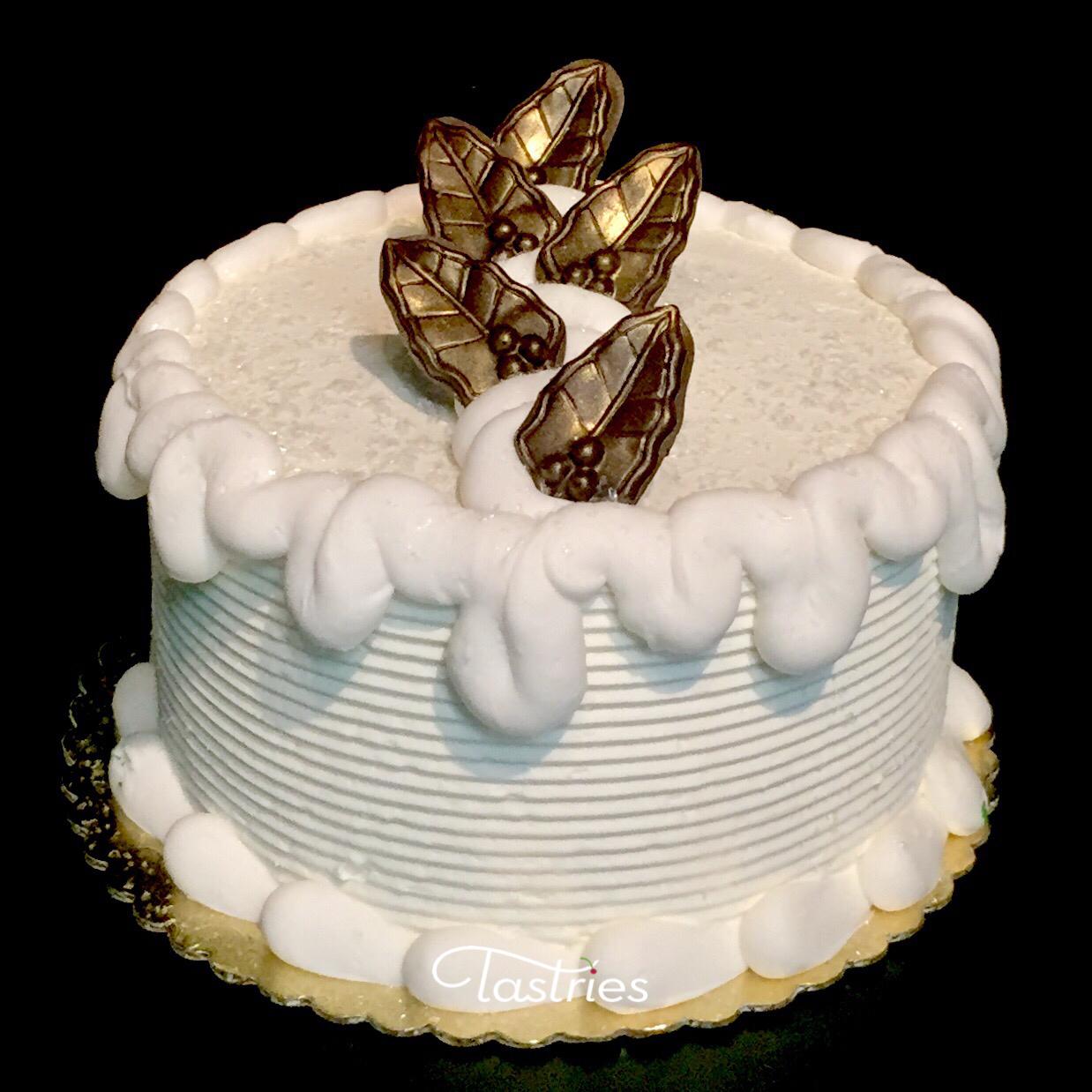 Snowy Winter Dessert Cake, Tastries