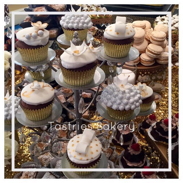 Silver Cupcake Stand Rental