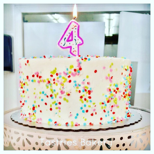 Sprinkle Birthday Cake, Tastries